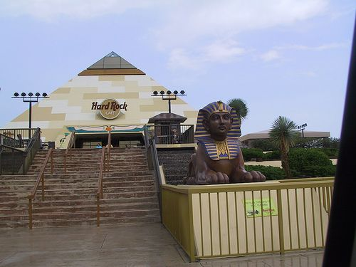 Hard Rock Cafe Egyptian Pyramid Broadway At The Beach Myrtle