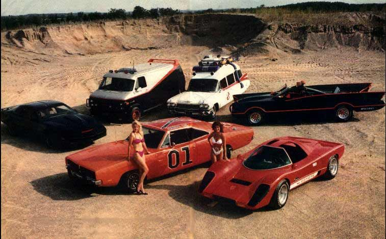 Old Car TV Show Cars Cars From The S TV Shows Posters - Car tv shows
