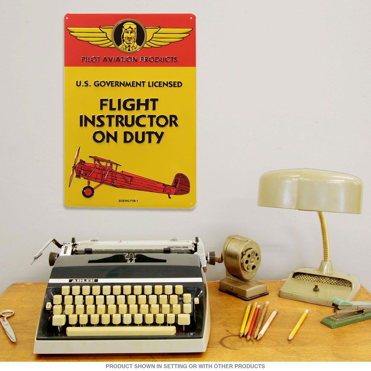 Flight Instructor on Duty Airplane Metal Sign | Aviation decor ...