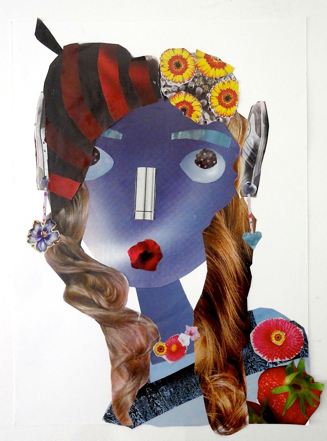 A Face Collage | Pinterest | La cara, Plástica y Retrato
