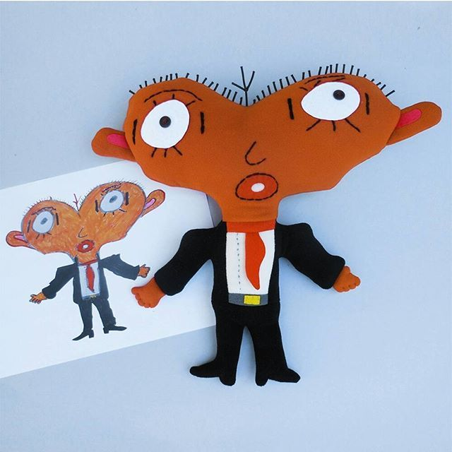 f99013abb156 This is a very special soft toy, made for Tempo 15 association (they help