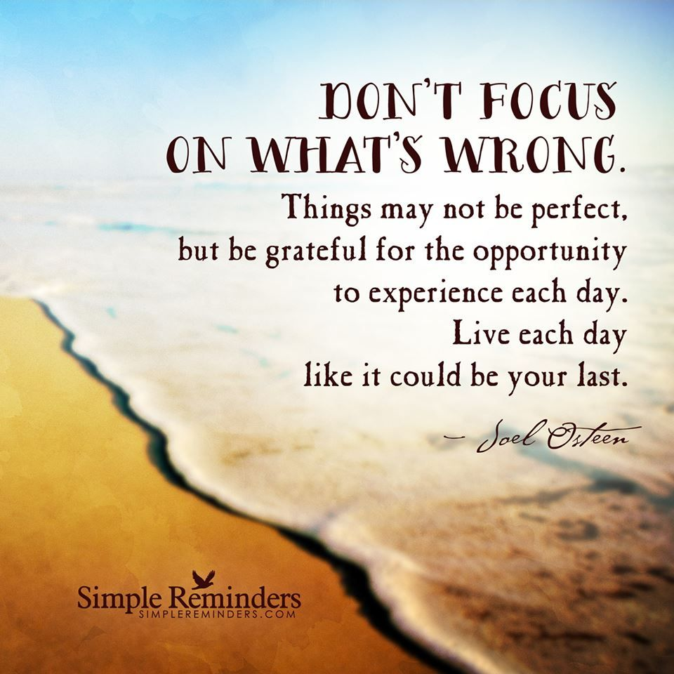 living life happy today / quotes for inspiration / Joel Osteen