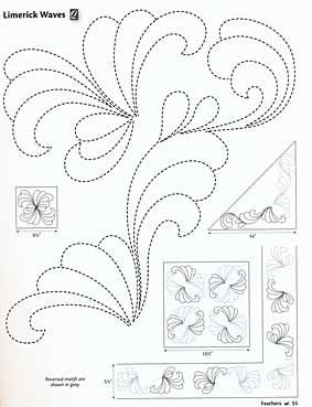 Additional Images of 501 Quilting Motifs by Editors of