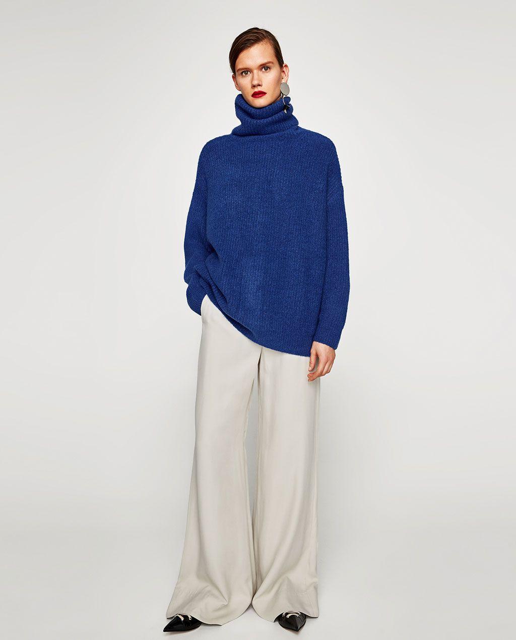 comprare popolare 0629b 66ec1 Immagine 1 di MAGLIA OVERSIZE COLLO ALTO di Zara ...