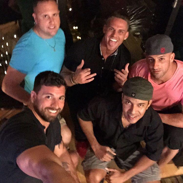 Chilling with my dudes.... @mhirchak11267 @dmeach07 @themichaeldowns @salvatore__c