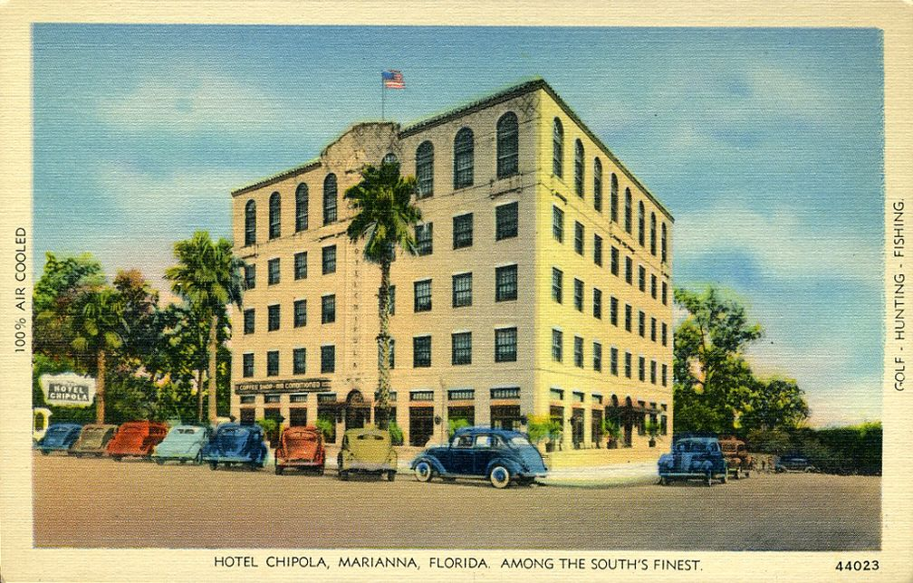 Florida Memory Colonial Inn Hotel Blountstown My Style Pinterest Small Towns And Resorts