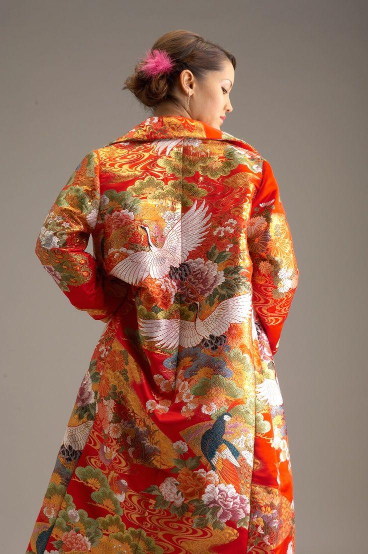 Traditional Wedding Kimono | Kimono Jacket made from ...