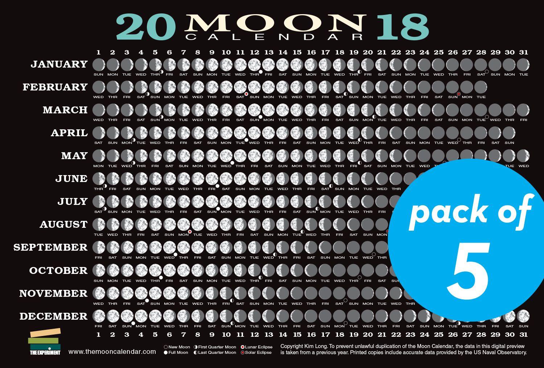 Image Result For Lunar Calendar 2018 Moon Calendar New Moon