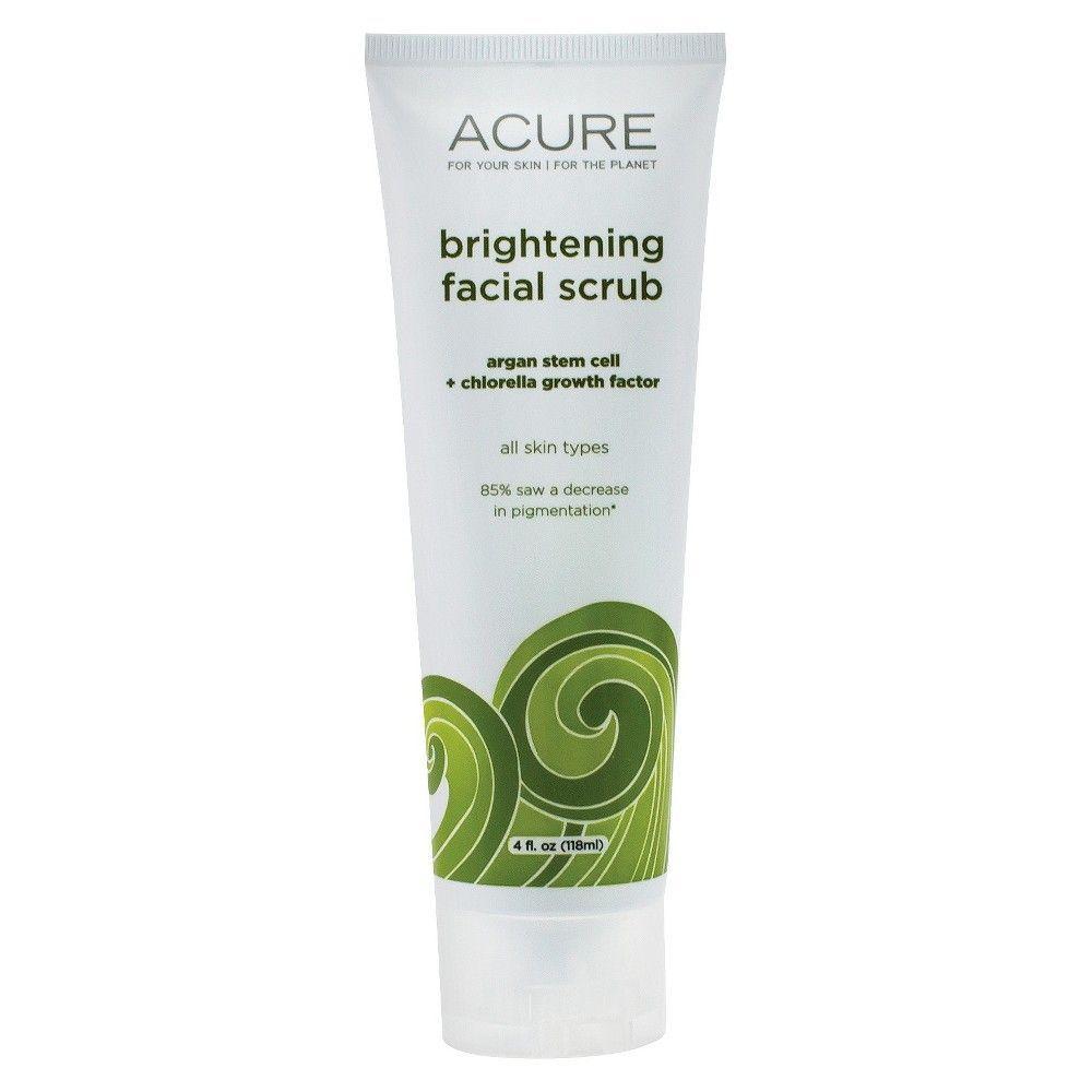 Acure Organics Brightening Facial Scrub Sea Kelp + CGF