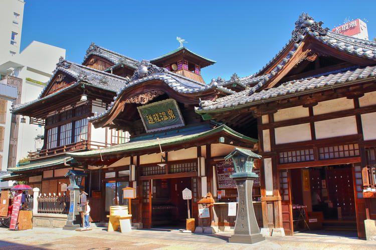 Enter The Fantasy World Of Spirited Away Japanese Hot Springs Bath House Hot Springs