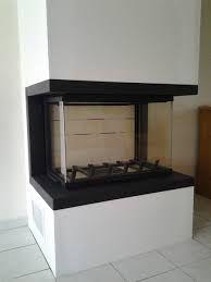 cheminee insert 3 faces vitrees