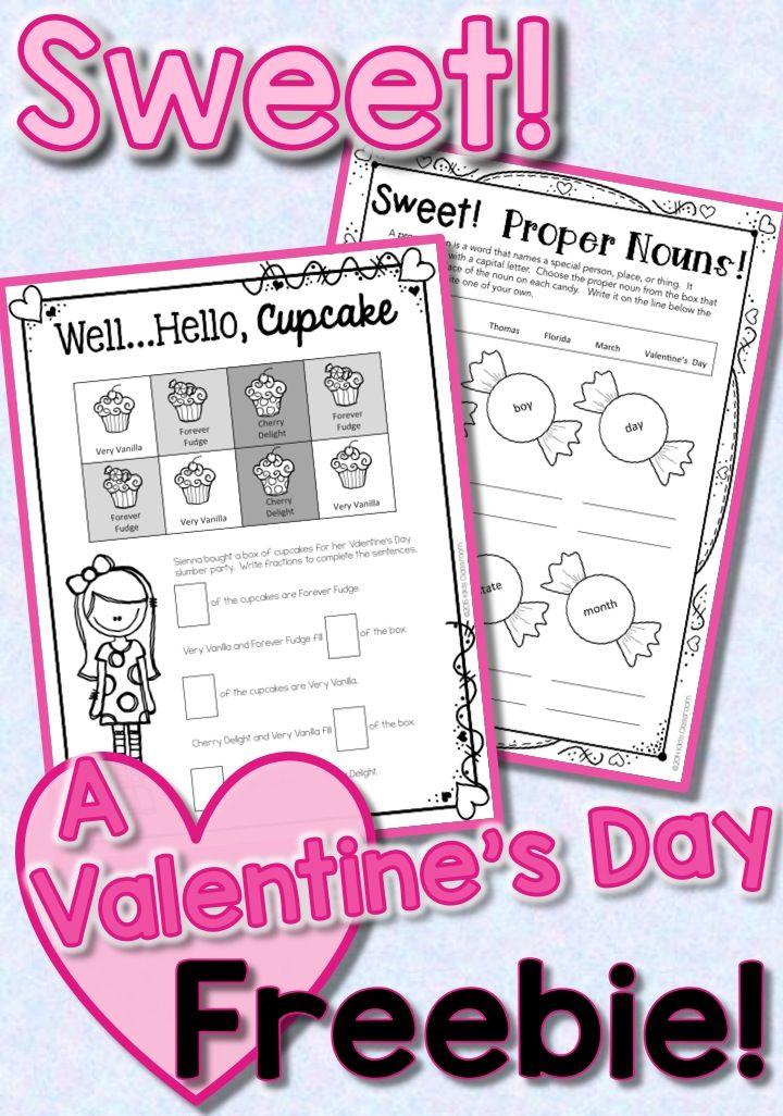 valentine 39 s day 3rd grade math ela freebie tpt free lessons 3rd grade math classroom. Black Bedroom Furniture Sets. Home Design Ideas