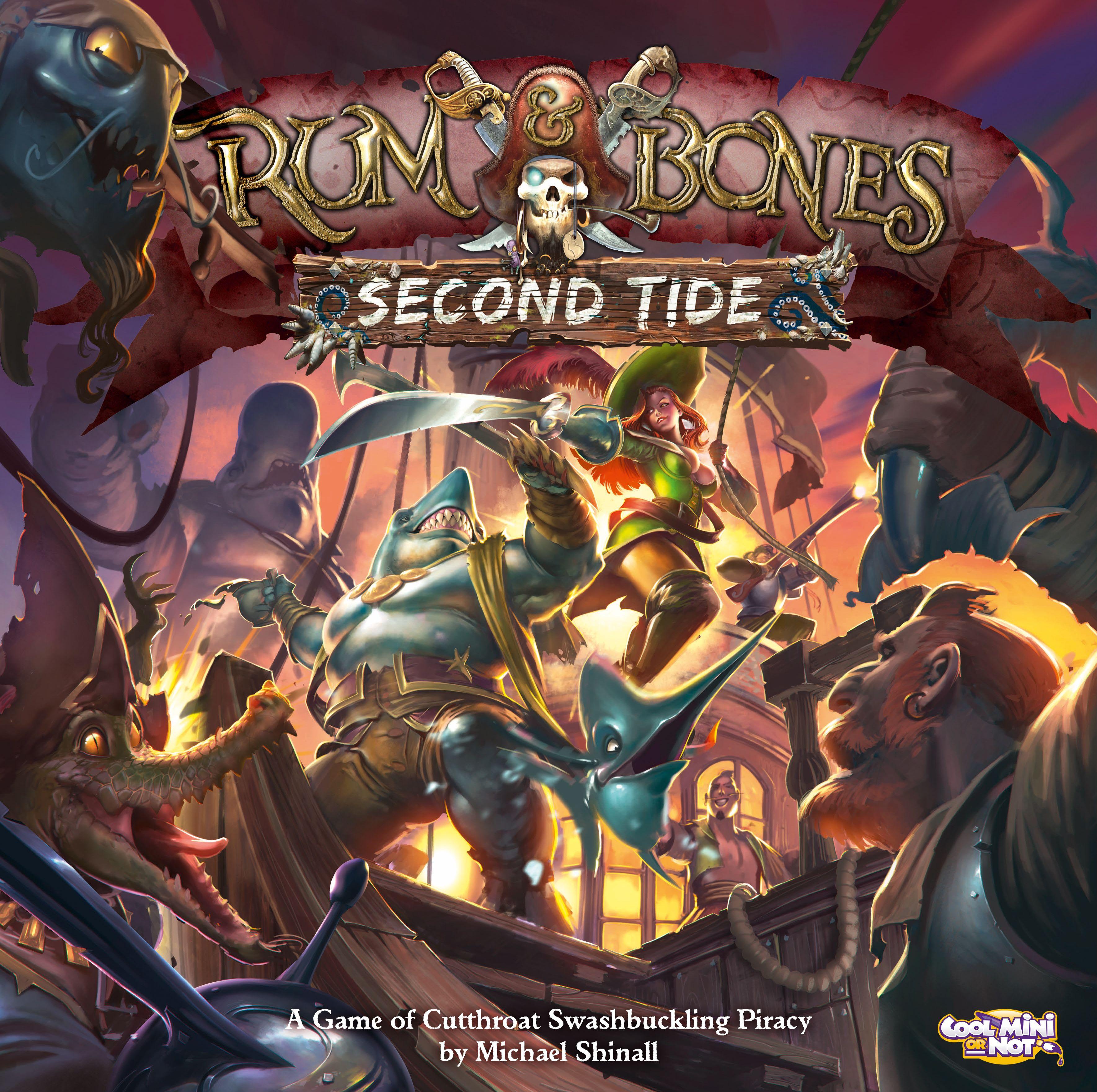 Rum & Bones: Second Tide   Pirates Boardgames   Fun board