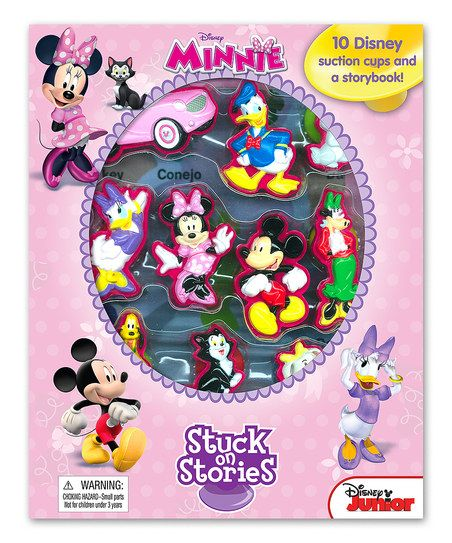 Minnie Mouse Stuck on Stories Book & Figurine Set on sale now at $14.99. Only 1 day and 20 hours left