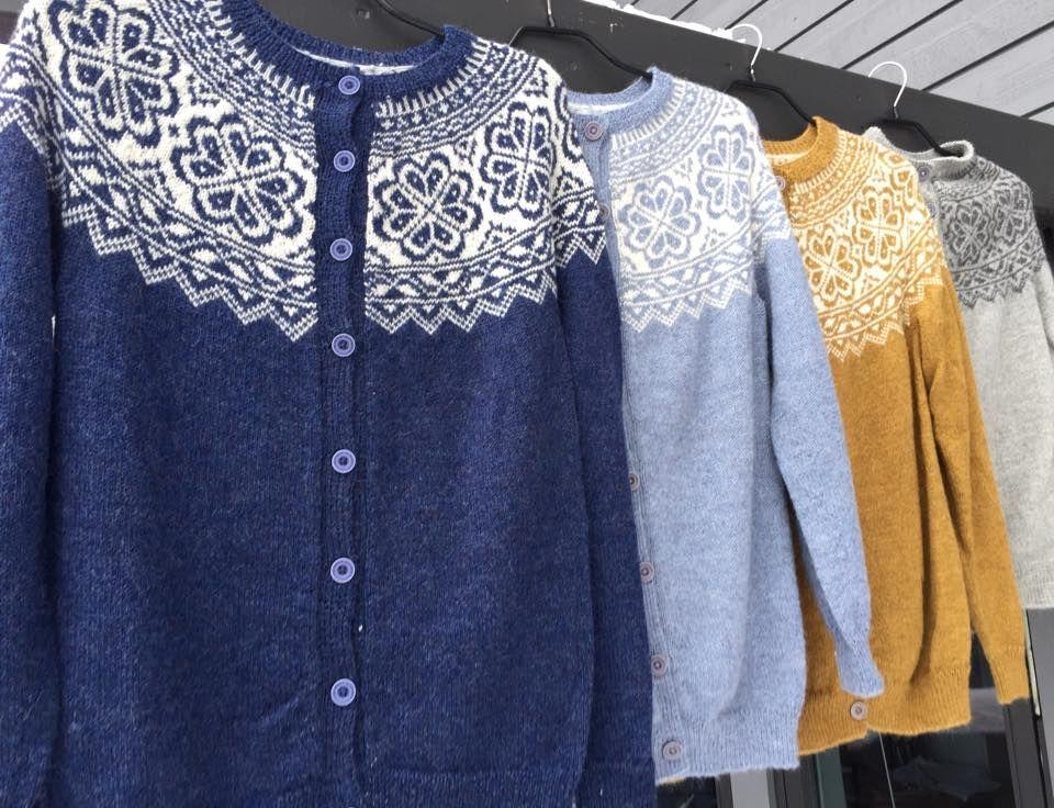 5fbb6306 Voss festivalkofte 313 strikkepakke 100% babyalpakka | Knitting ...