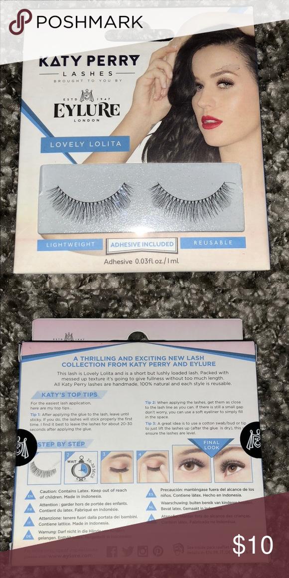 65ebf004840 Eylure Katy Perry Lashes Lovely Lolita NEW Brand new in sealed box. Lovely  Lolita Eylure Makeup False Eyelashes