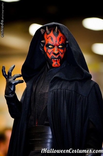 Darth Maul! The cloak,the make up,the contacts! Always liked his look.