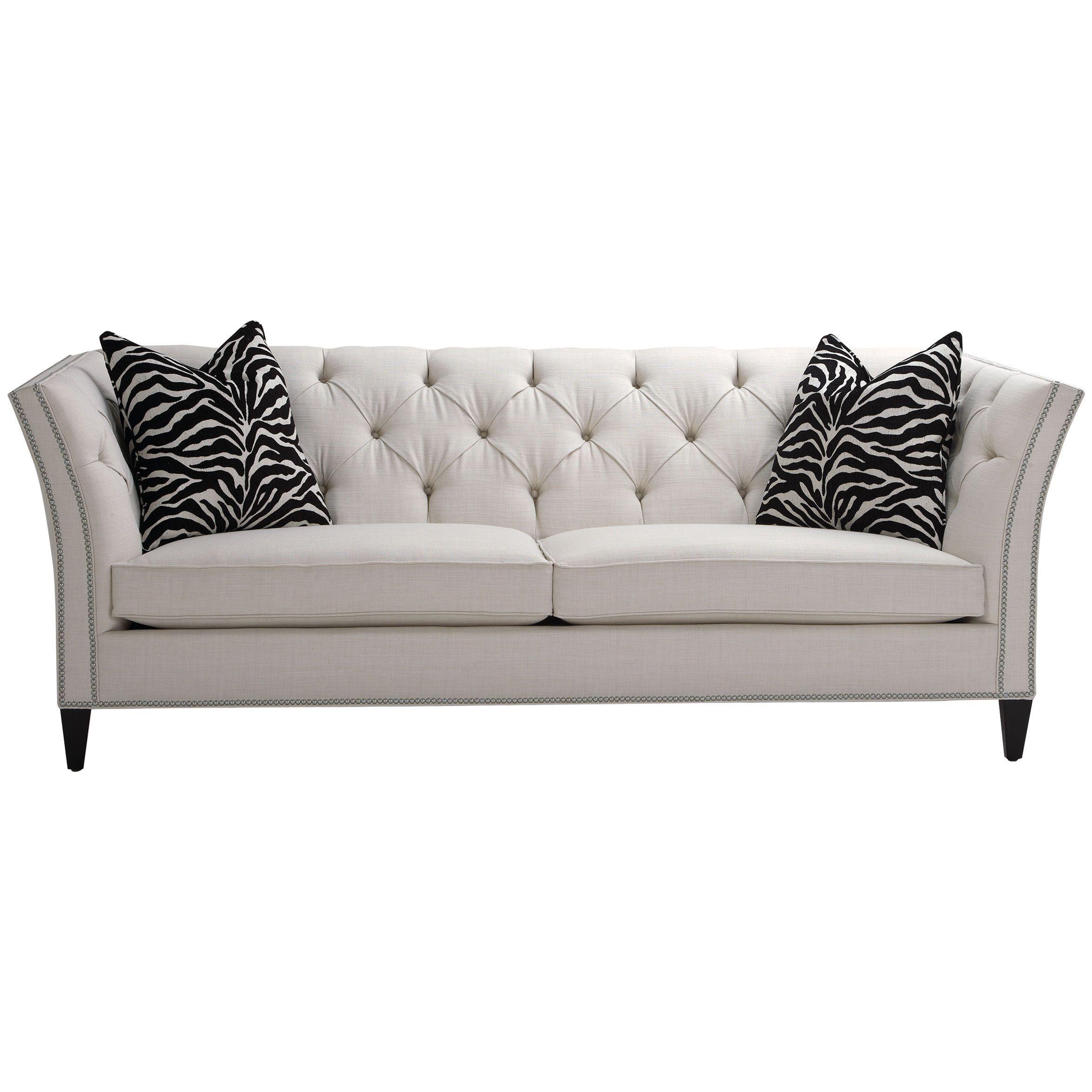 Design Trend Black And White Shelton Sofa Ethan Allen