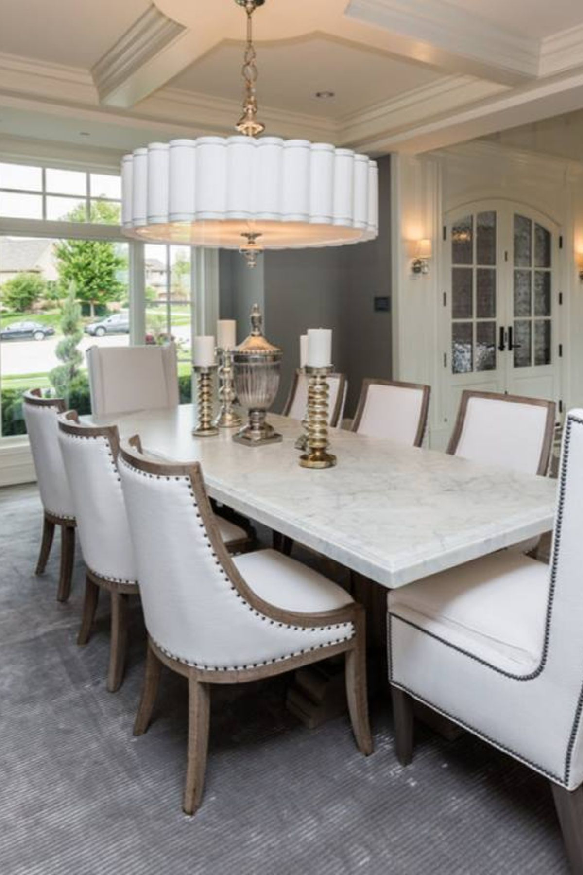 Room Redo Classic Traditional Elegant Meghan Blum Dining Room