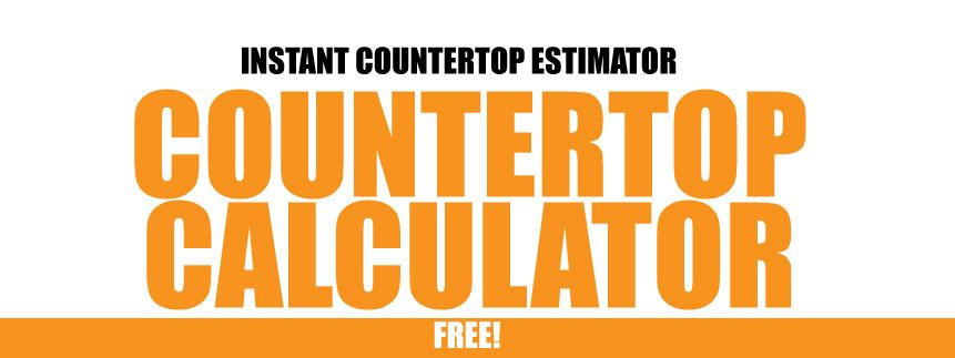 Free Countertop Calculator Calculate Your Sf With Your Measurments Countertops Marble Countertops Good To Know