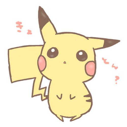 Cute Anime Cartoons | anime, cute, kawaii, pikachu, pretty - inspiring picture on Favim.com