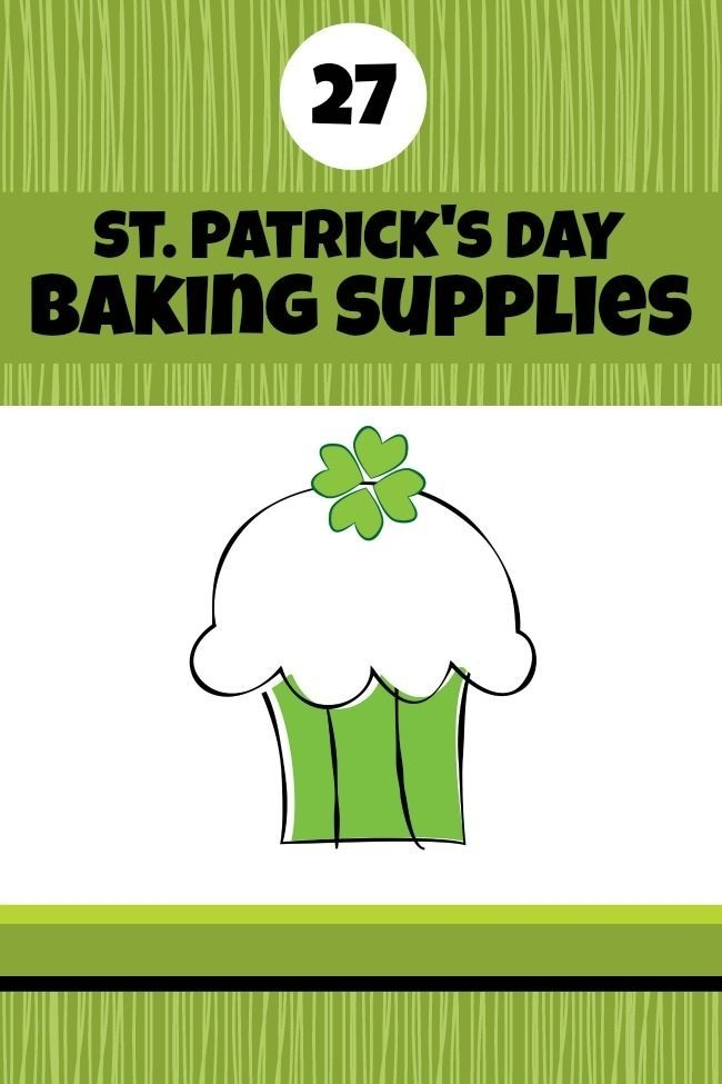 St. Patrick's Day Baking Supplies
