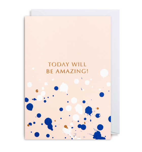 Today will be amazing greeting card word meaning greeting card m4hsunfo