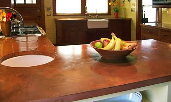 Copper Countertop 5 Alternatives To Granite Kitchen Countertops Nice Design