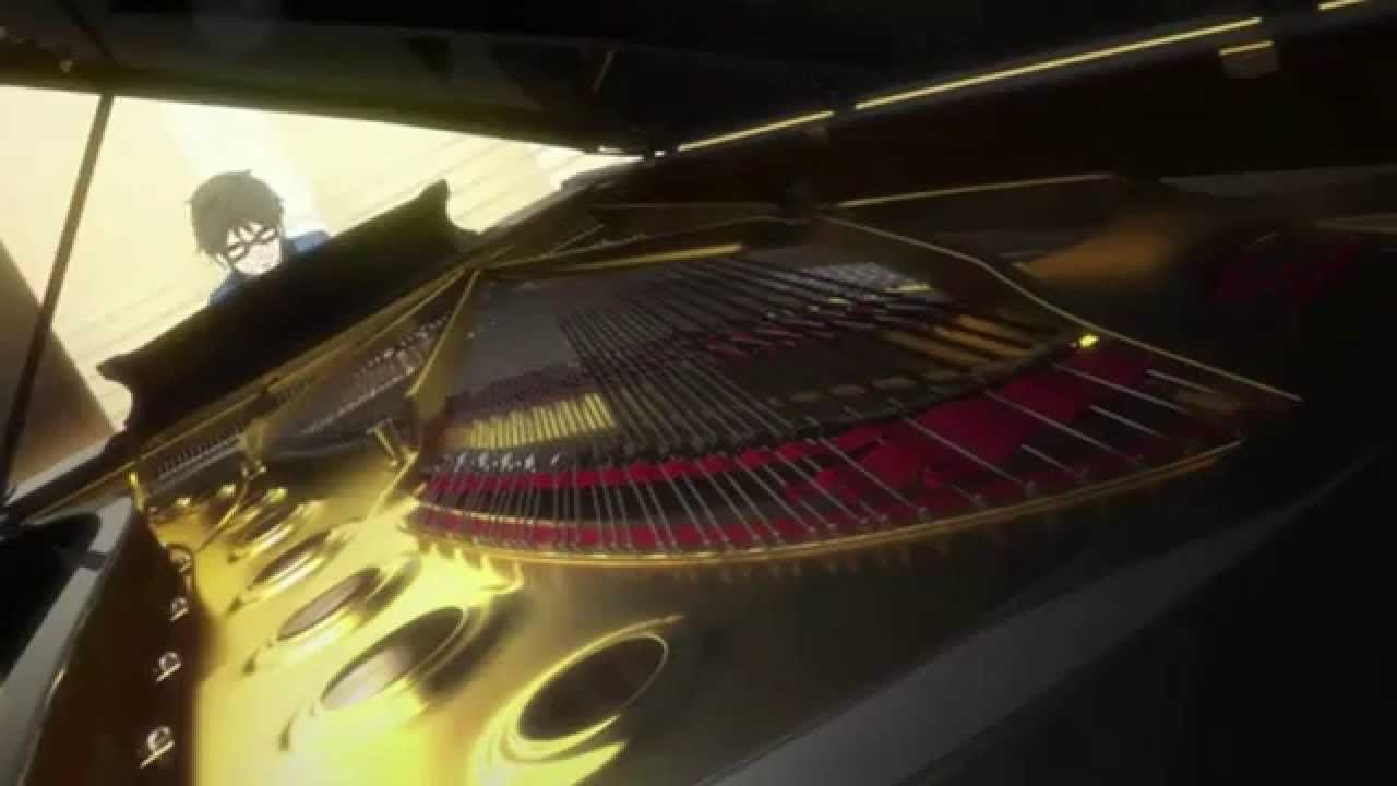 "Kousei's performance ""Love's Sorrow"" Ep 13   Your lie in April (Shigatsu wa Kimi no Uso)"