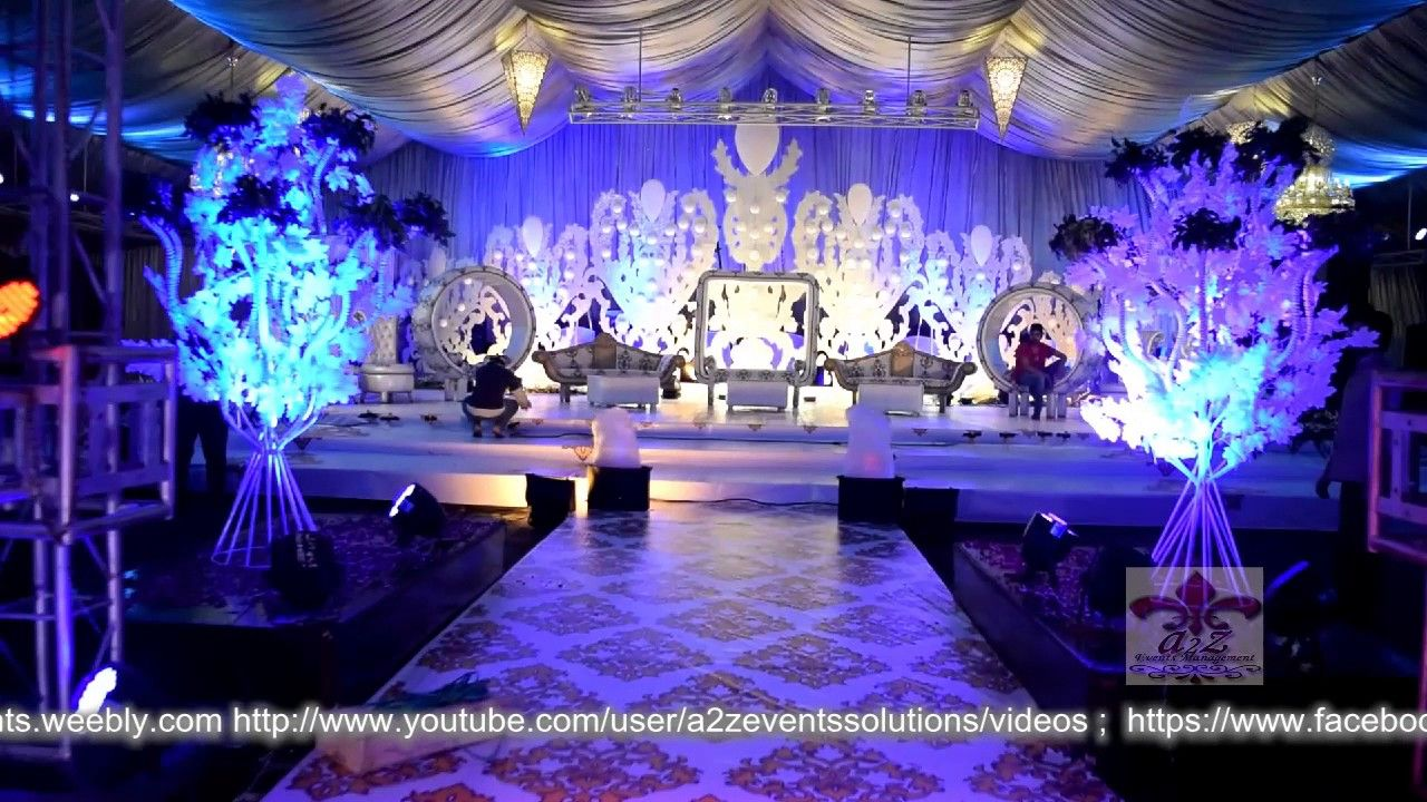 Light blue wedding decoration ideas  Pakistans wedding decorations ideas fully thematic event designer
