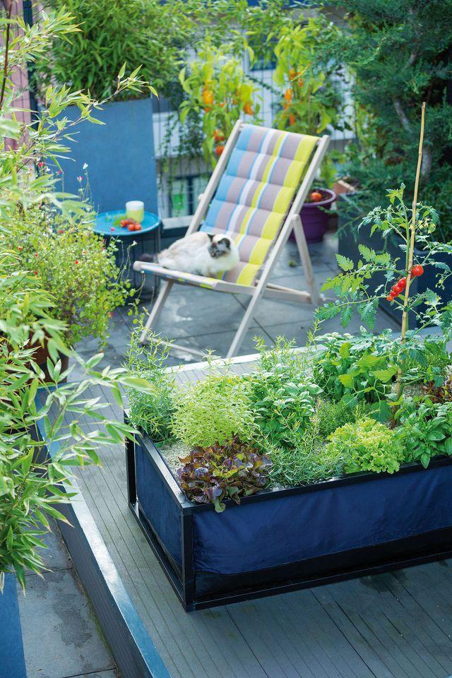 un transat ray pour profiter du balcon botanic - Transat Balcon