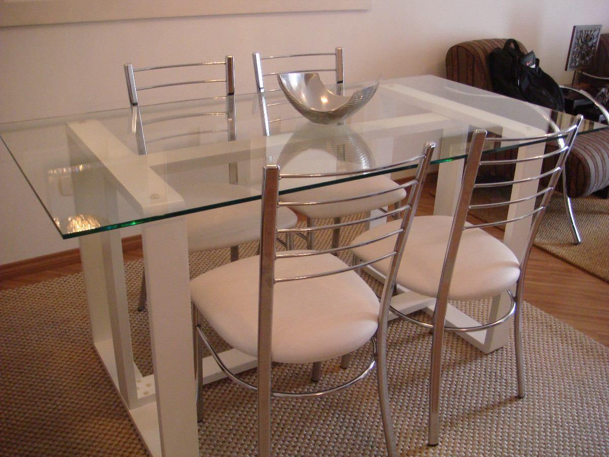 Pics photos mesa de jantar 4 lugares pequena decorao de for Mesas para apartamentos pequenos