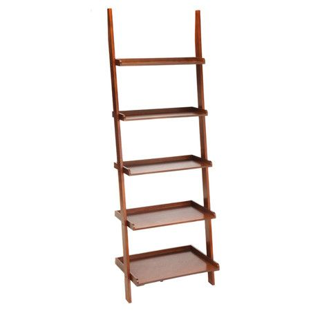 You Should See This American Heritage Ladder Bookcase Cherry Daily Sales