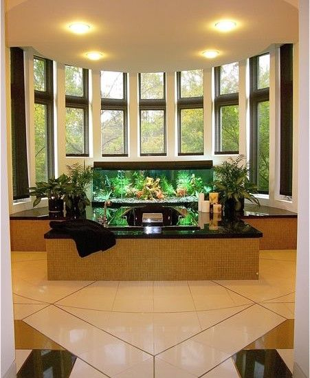 Amazing Home Aquariums Design, Pictures, Remodel, Decor And Ideas #aquarium  #fishtank Part 90