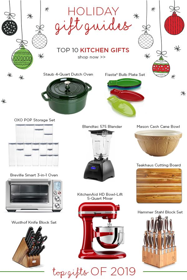 Whether you're looking for gifts for her, gifts for him, or a well-deserved gift for yourself, we've got something on this gift guide for everyone. We've tried and tested the best kitchen products from the year and have narrowed it down to our top kitchen gifts of 2019. If you're looking for a unique, creative gift that'll show your favorite foodie just how much they mean to you, then check out this list, as well as our other handpicked gift guides! Merry shopping!