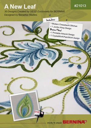 A New Leaf Bernina Embroidery Collection 21013 That Dress