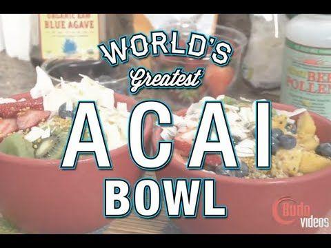 Worlds best acai bowl recipe with aj agazarm secrets revealed superfood acai berry bowl vegan raw food recipe youtube forumfinder Images