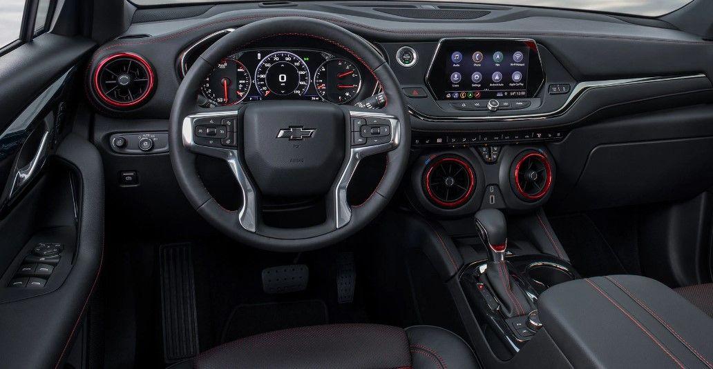2020 Chevy Blazer interior | LuxuryCarsReport | Chevy, Jeep, Interior