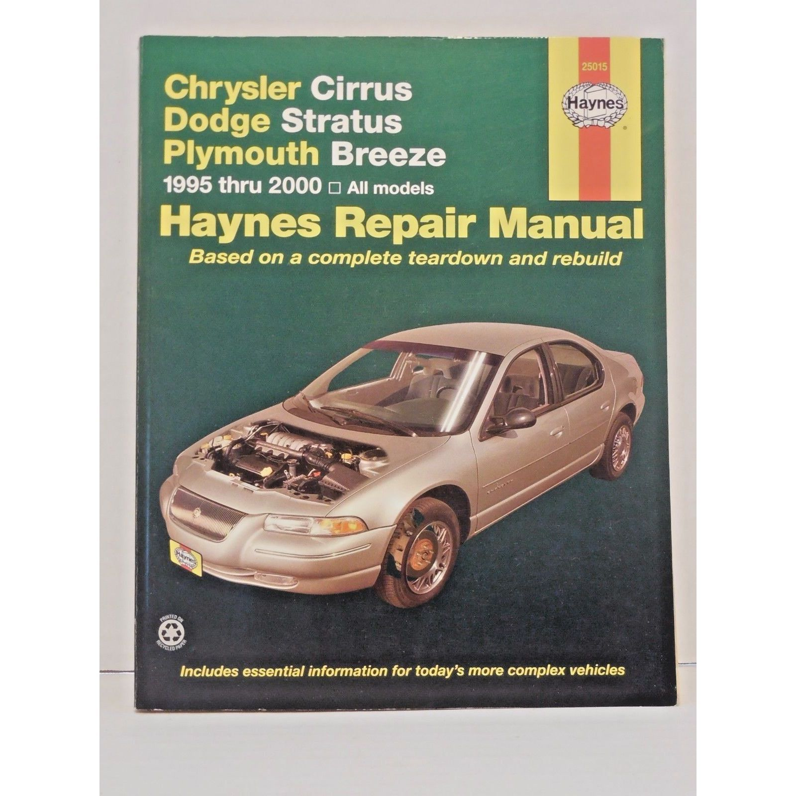 haynes repair manual 25015 chrysler cirrus dodge stratus plymouth rh  pinterest com 2000 chrysler cirrus haynes manual pdf 2000 chrysler cirrus repair  manual