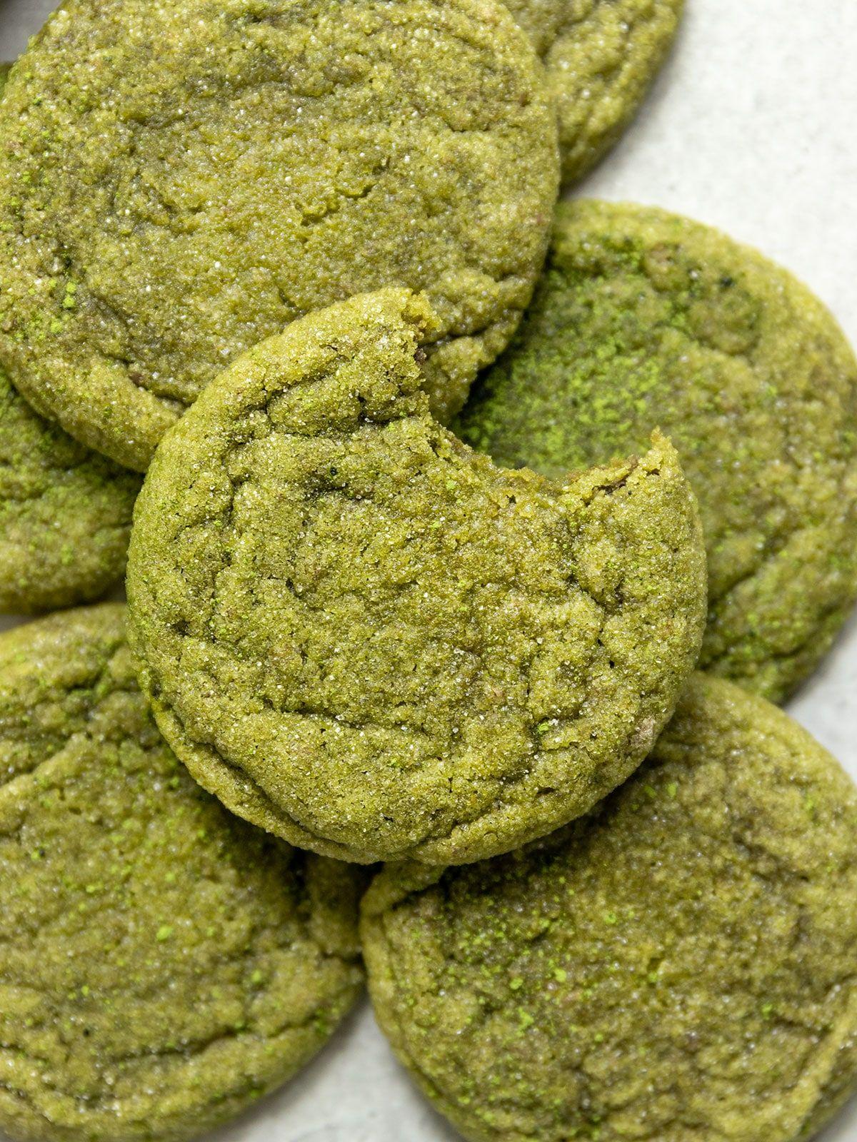 Photo of Vegan Matcha Sugar Cookies