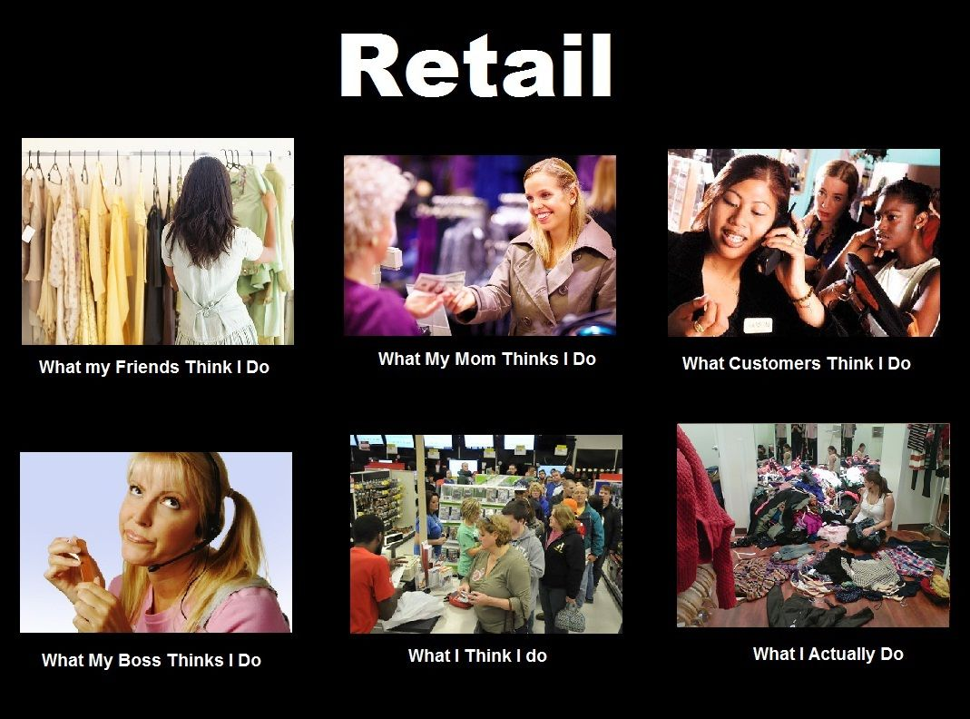 Funny Meme Retail : What retail workers do laughter is the best medicine