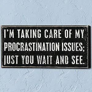 Procrastination Quotes Beauteous Procrastination Issues  Pinterest  Humor Stuffing And Senior Quotes