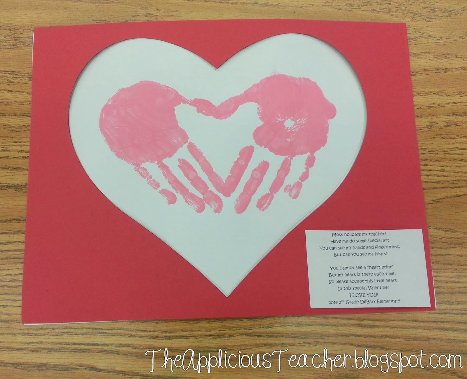 Cute valentine poem from child-3698
