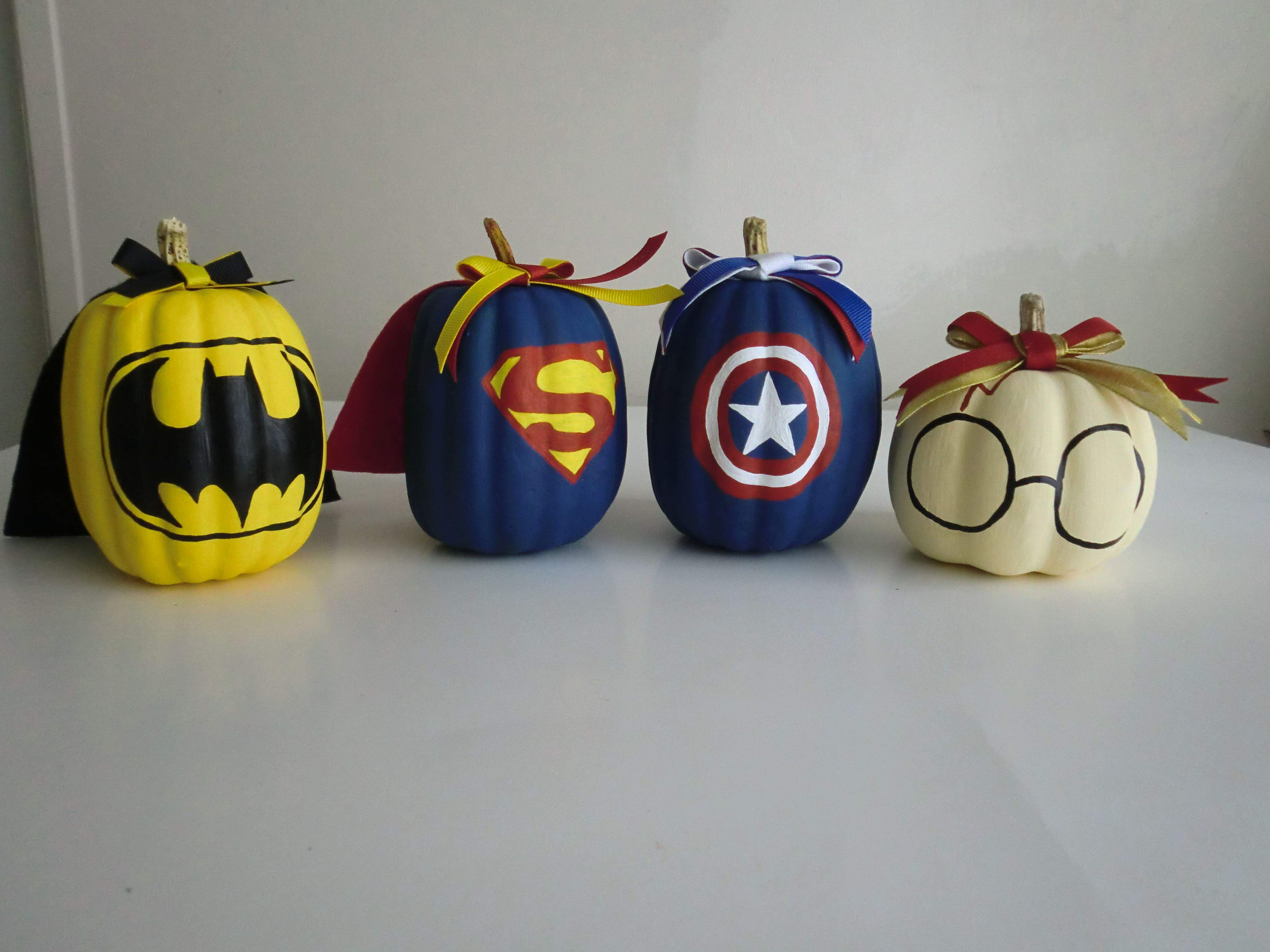 Super Hero Pumpkins Painted Pumpkins Character Pumpkins Batman