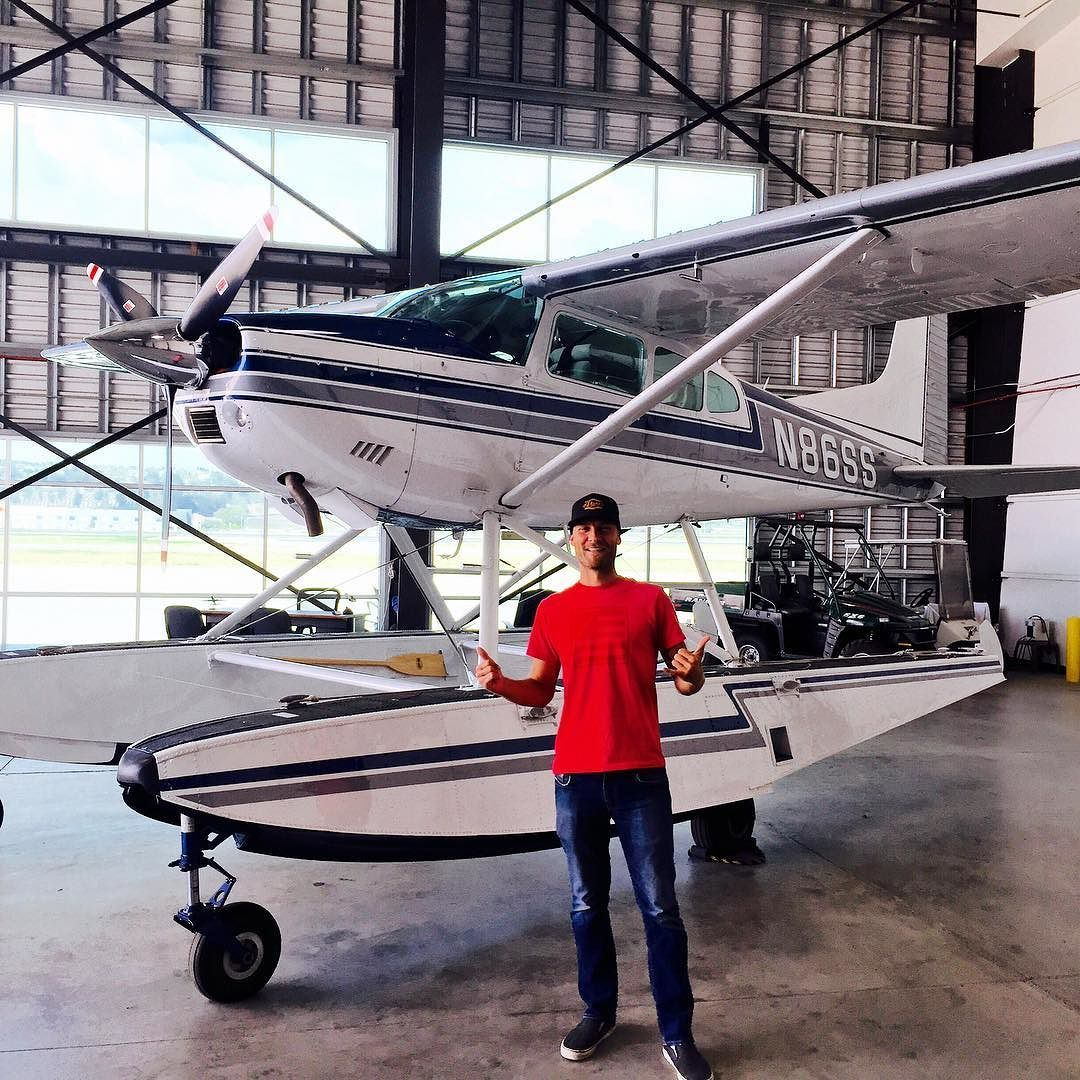 Cessna 185 Turbo on Floats!! Thanks to @boatshoeaviator