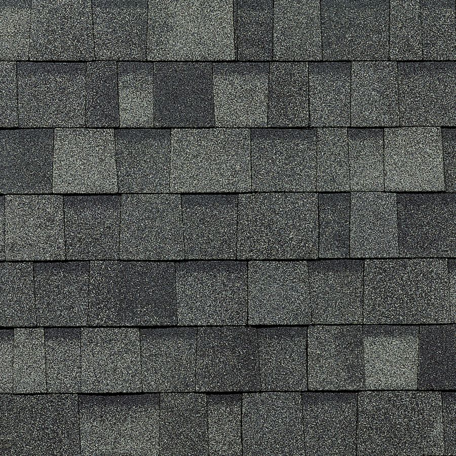 shop owens corning oakridge 328 sq ft estate gray laminated architectural roof shingles at lowescom - Roof Shingles Lowes