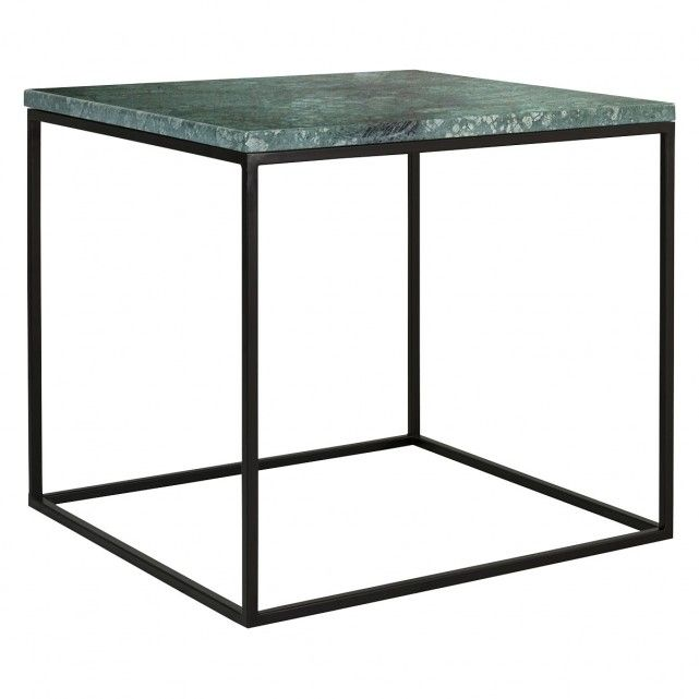 The Nestor Green Marble Side Table On A Metal Base Is Luxurious Design That Combines Clic Material With Contemporary Linear Frame Br Due