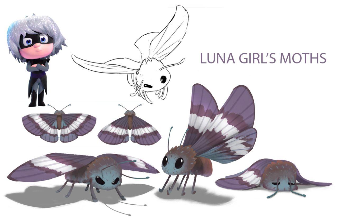 Luna Girls Moths Pj Masks With Images Luna Girl Luna Girl