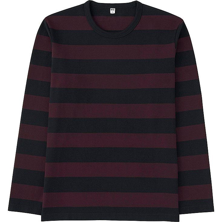 9c5193b5 Men washed striped crewneck long sleeve t-shirt | Q3 / Q4 COLOUR | T ...
