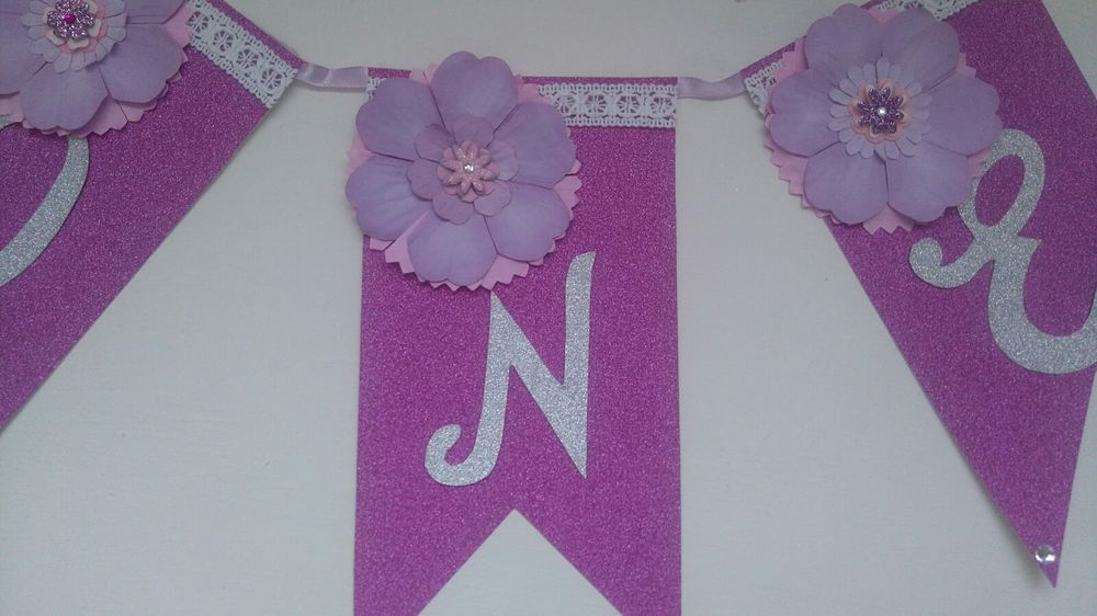 1st birthday highchair banner girl one birthday bunting party  in Home, Furniture & DIY, Celebrations & Occasions, Party Supplies   eBay!